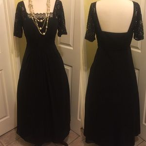 Prom dress size L black